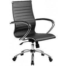 Кресло офисное SkyLine KN-2 (С,Ch) экокожа пятилучье хром
