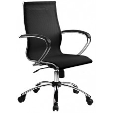 Кресло офисное SkyLine S-2 (С,Ch) сетка пятилучье хром