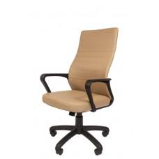 Кресло офисное РК-165 экокожа пятилучье пластик
