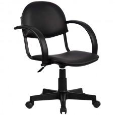 Кресло офисное Бэйсик искусственная кожа пятилучие пластик