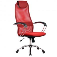 Кресло офисное Галакси Ultra ткань-сетка пятилучие хром