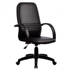 Кресло офисное Менеджер-1 экокожа пятилучие пластик