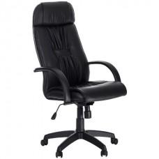 Кресло офисное Пилот-Люкс экокожа пятилучие пластик