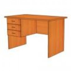Стол письменный с 3 ящиками СФ213 Практик 150х70х75 см