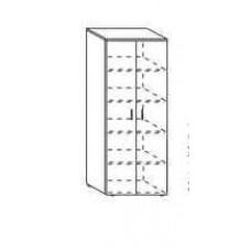 Шкаф закрытый Партнер 80х40х200 см