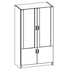 Шкаф для документов Консул 80х40х180 см