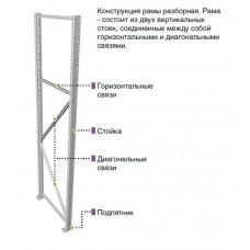 Рама MS Profi 200х100 см оцинковка