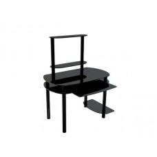 Стол компьютерный Akma Noir 02 черный лак