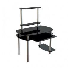 Стол компьютерный Akma Noir 02 алюминивые опоры