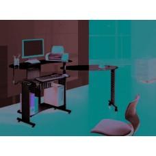 Стол компьютерный Mos-400 Black