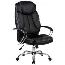 Кресло офисное LK-12 перфорированная экокожа пятилучье пластик