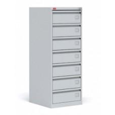 Шкаф картотечный металлический для хранения документов КР-7 Пакс-металл
