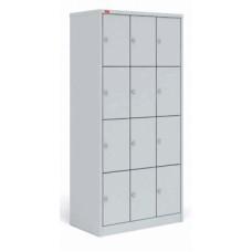 Шкаф трехсекционный металлический для сумок ШРМ-312 Пакс-металл