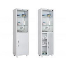 Шкаф медицинский металлический MD 1 1657/SG