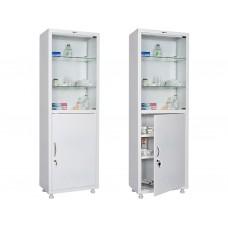 Шкаф медицинский металлический MD 1 1760/SG