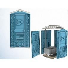 Туалетная кабина Ecostyle разобранная