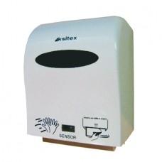 Диспенсер автоматический для рулонный полотенец Ksitex A1- 15А пластик