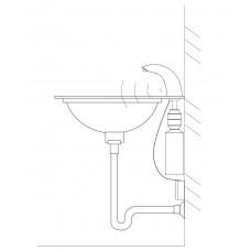 Дозатор встраиваемый жидкого мыла Ksitex ASD-611 автоматический
