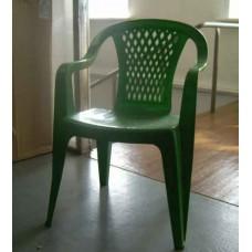 Кресло пластиковое Селена зеленое